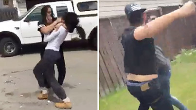 Meanwhile In Calgary: Wannabe Thug Guy Catches Feelings During Cat Fight