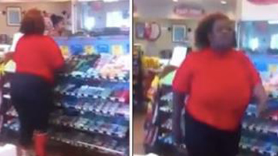 Ratchet Chronicles: Woman Destroys Convenience Store Because They Ran Out Of Skittles