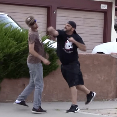 Dude Gets Knocked The F*ck Out During Road Rage Incident In Albuquerque