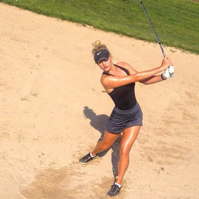 Former San Diego State Golfer 'Paige Spiranac' Is Taking The Internet By Storm