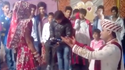 Indian Groom Gives His Bride An Epic Wedding Dance Performance She Will Never Forget