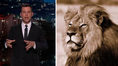 Jimmy Kimmel Gets Choked Up While Addressing The Dentist That Killed Cecil The Lion