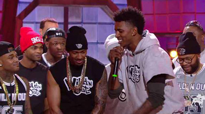Nick Young Gets Dissed About Lakers & Iggy Azalea On Wild 'N Out