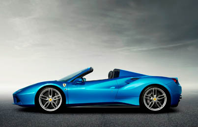 Automotive Excellence: The Ferrari 488 Spider Revealed (Price Starts At $300K)