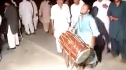 He Killed It: Wicked Dhol Player