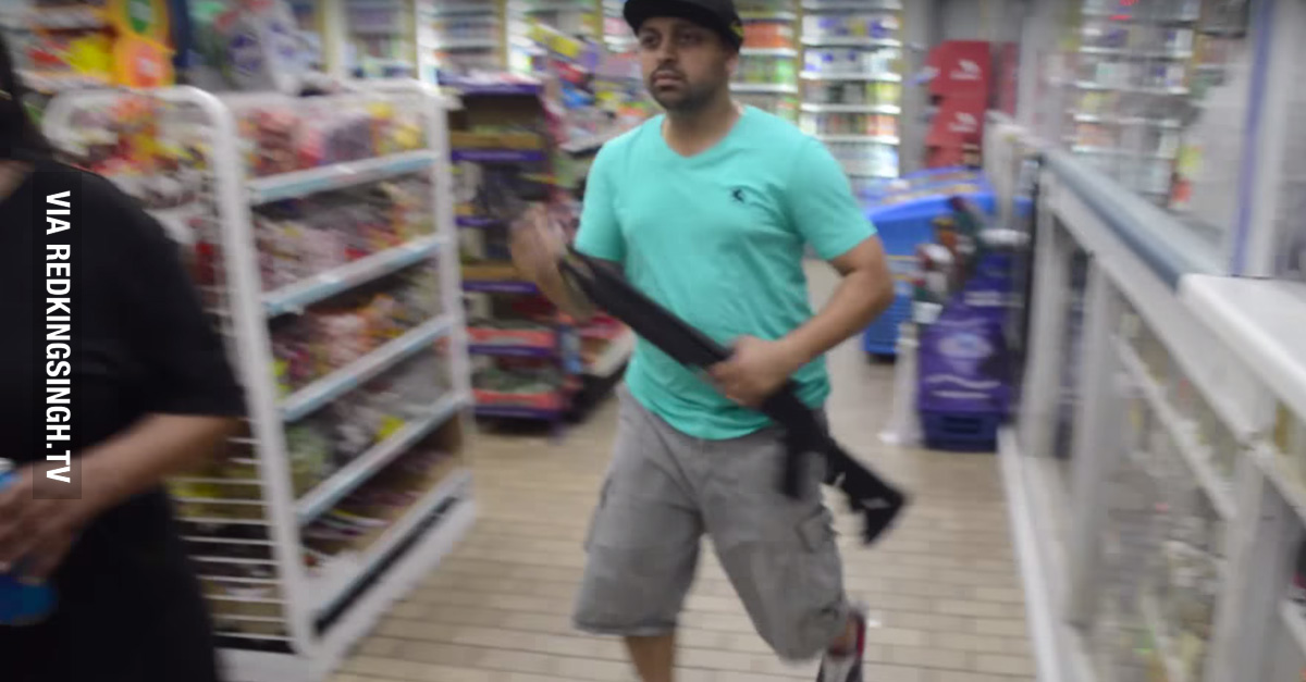 Ferguson Store Owners Strap Up And Defend Their Business From ...