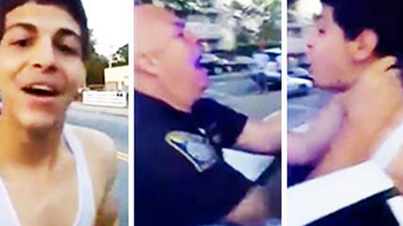 """Guy Gets Choked & Arrested For Screaming """"F*ck The Police"""""""
