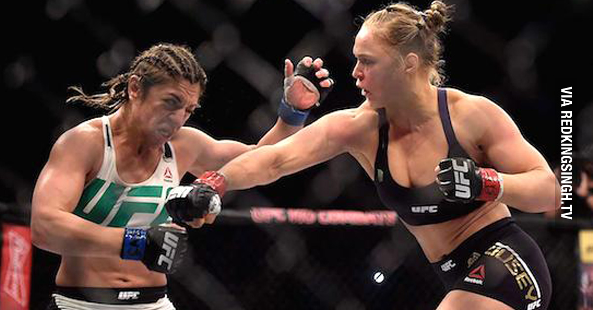 Ronda Rousey Knocks Out Sh T Talking Bethe Correia In Just 34 Seconds Video