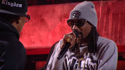 Snoop Dogg Clowns Nick Cannon's Rapping Skills On Wild 'N Out
