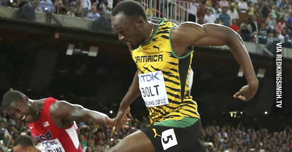 2015 World Athletics Championships Usain Bolt Pulls Off Stunning Performance Video