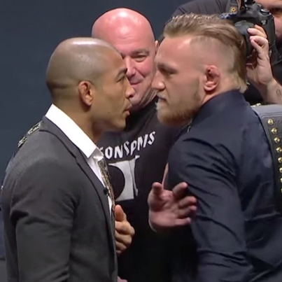 Conor McGregor Goes Off On Dos Anjos, Aldo and Mendes During UFC's Press Event