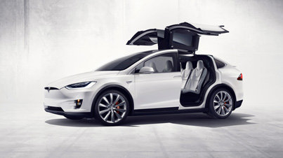 Hands-On With The Tesla Model X