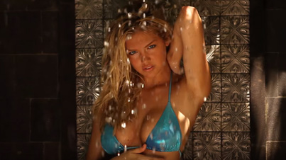 Kate Upton's Topless Shower Shoot From Sports Illustrated