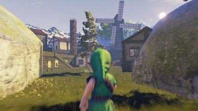 Ocarina of Time Reimagined With Unreal Engine 4