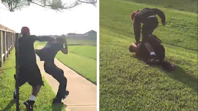 Protective Brother Beats The Living Sh*t Out Of His Sisters Abusive Boyfriend