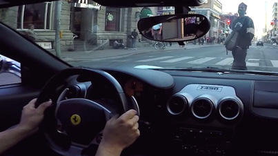 What It's Like Driving A Ferrari Around The City Streets Of Toronto