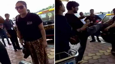 Wife Catches Her Husband With His Girlfriend At Goa Airport