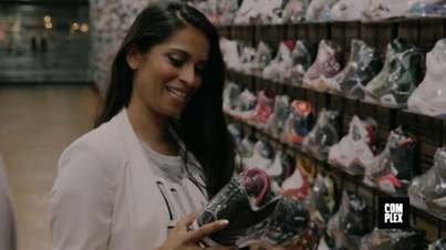 YouTuber Lilly Singh Goes Sneaker Shopping With Complex