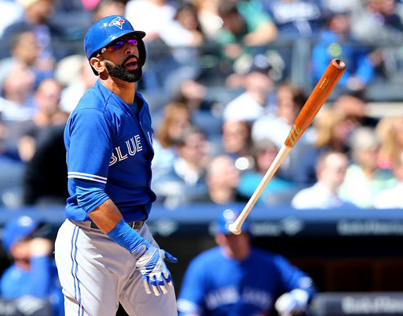 A Closer Look At Jose Bautista's Epic Bat Flip
