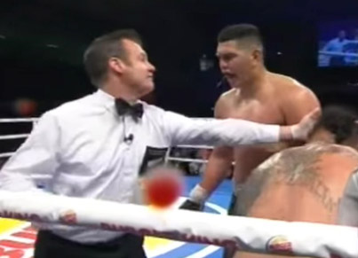"Boxer Begs Referee To ""Stop The F*cking Fight!"""