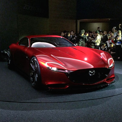 Introducing The Mazda Concept RX-Vision Coupe