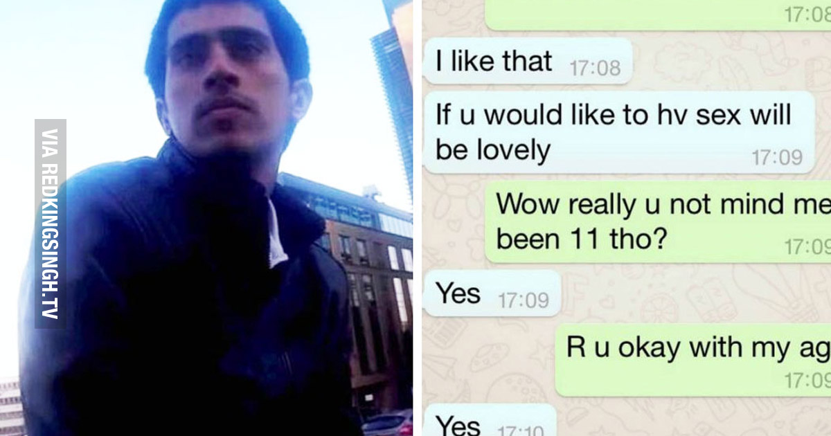 Online Vigilante Group Catches Man Who Sent 11-Year-Old Dick