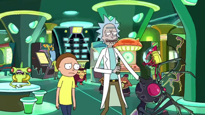 Rick And Morty Cartoon Is Super Deep