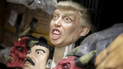This Mexican Donald Trump Halloween Mask Is Creepy As F*ck