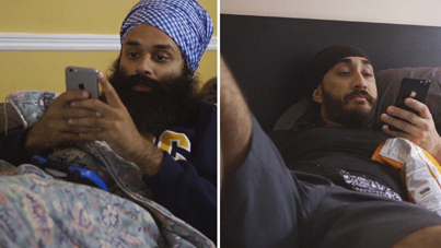 2 Brown Guys Texting (Comedy Sketch) by Jus Reign