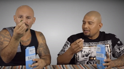 Hispanic Gangsters Try Organic Vegan Food For The First Time