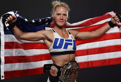 UFC Champ Holly Holm Defends Ronda Rousey Against All The Haters