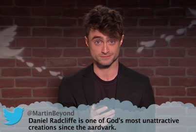 New Round Of Celebs Reading Mean Tweets