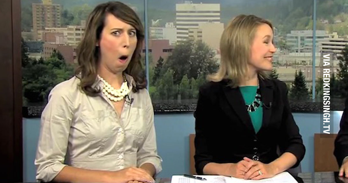 The Best News Bloopers Of 2015 Video