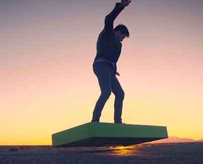 ArcaBoard: The First Real Life Hoverboard