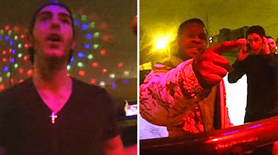 Bouncer Wears A GoPro To Prove Just How F##ked People Are On NYE