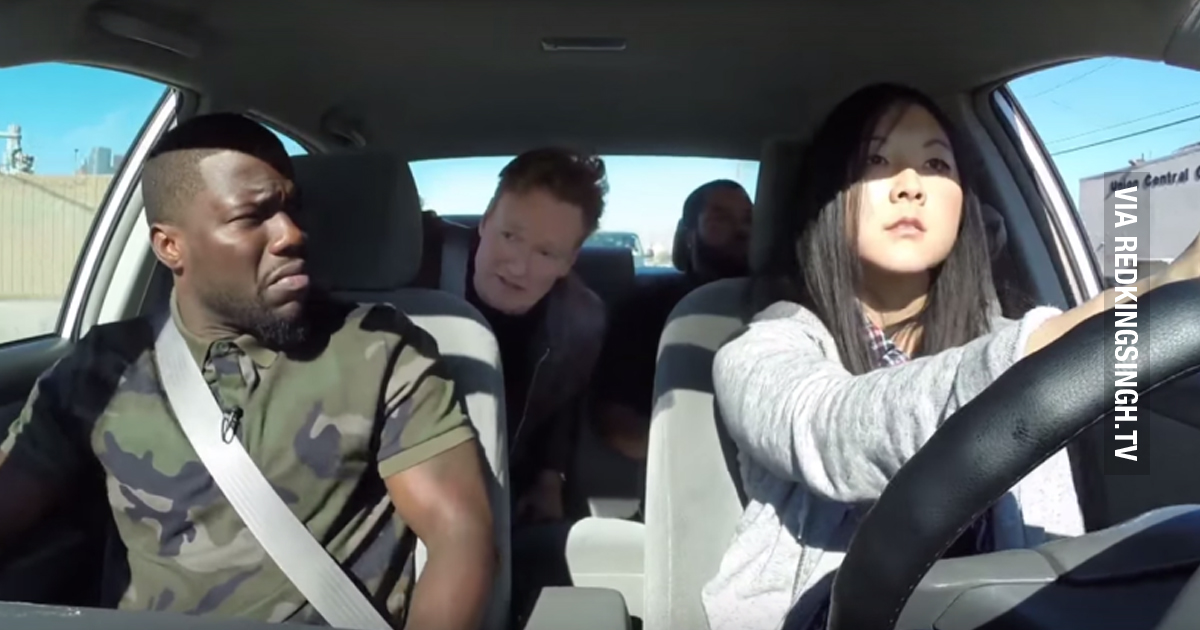 Kevin Hart Commercial >> Conan, Ice Cube and Kevin Hart Go For A Ride With A Student Driver