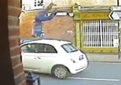 A Man Miraculously Survived This Crazy Hit And Run