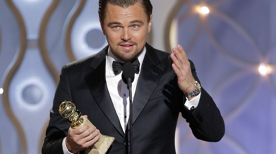 Leonardo DiCaprio Pays Tribute To First Nations In Golden Globe Speech