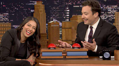 Lilly Singh Makes Her Debut On The Tonight Show Starring Jimmy Fallon