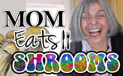 Legendary Mother Eats Mushrooms For The First Time