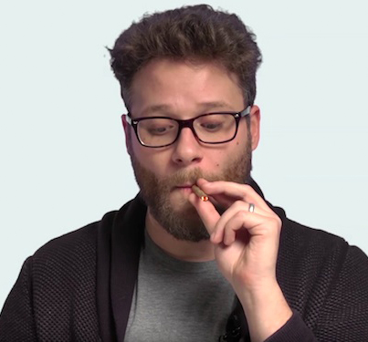 Seth Rogen Teaches Newbies How To Roll A Joint
