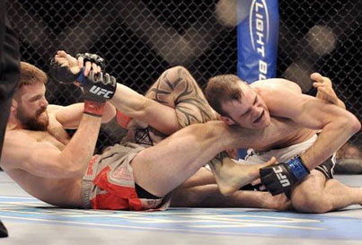 20 Rare MMA Submissions From Real Fights