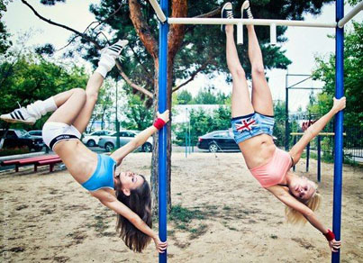 Get Fit Or Die Trying: Street Workout Girls