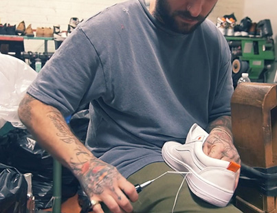 The Shoe Surgeon Transforms A Pair Of Vans