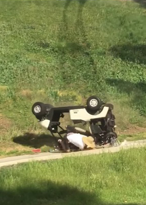 The Worst Golf Cart Crash I've Ever Witnessed