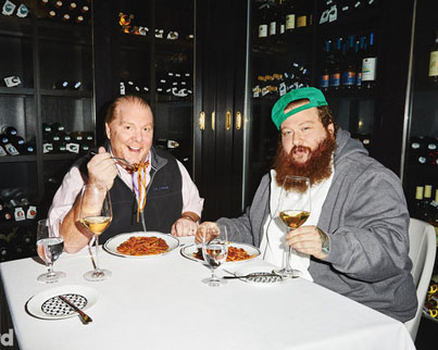 Action Bronson And His Homie Mario Batali Cook Octopus