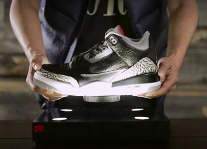 HUV: Amazing Futuristic Hover Display For Sneakerheads