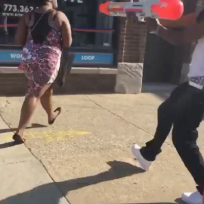 Chicago F**kboys Film Themselves Doing Watergun Drive-bys