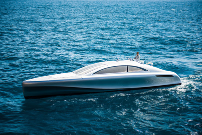 Mercedes-Benz Style Luxury Yacht