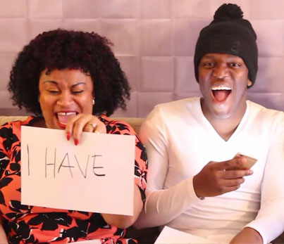 "YouTuber KSI Plays A Filthy Game Of ""Never Have I Ever"" With His Parents"